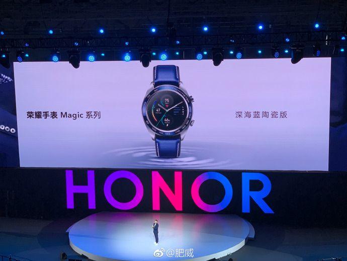 荣耀V20手机陶瓷与智能腕表的完美结合,演绎时尚和科技的独特魅力