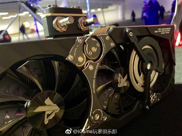标杆旗舰!七彩虹iGame RTX 2080 Ti Kudan发布:陀飞轮设计