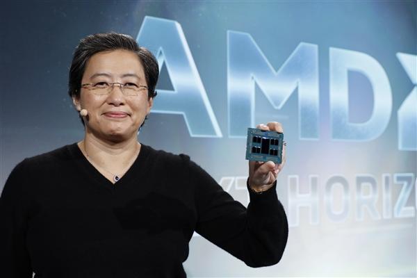 买AMD股票的要笑醒了 7nm大招未发就大涨20%