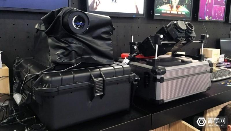 CREAL3D展示真正光场显示技术