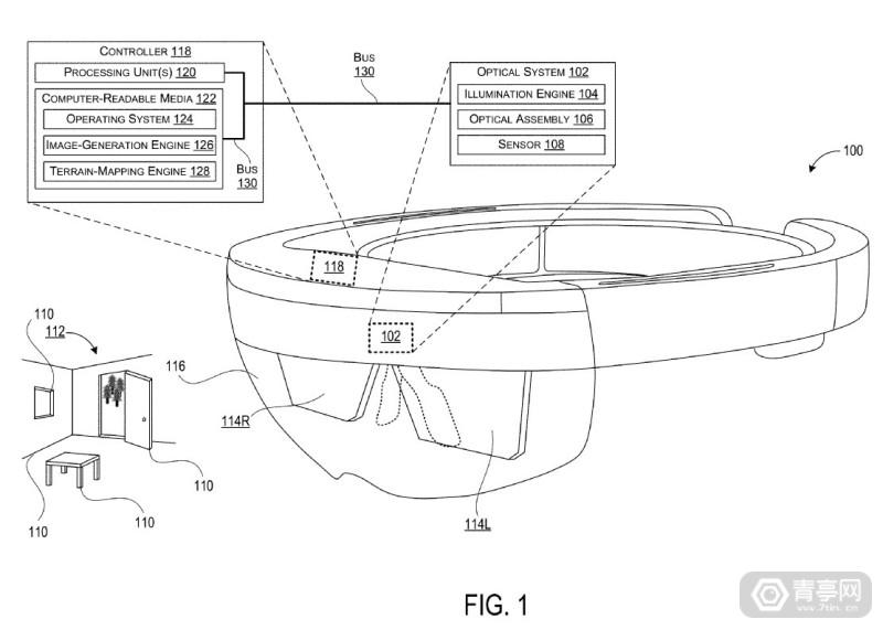 微软全息显示新专利曝光