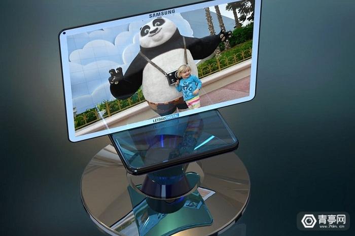 三星3D互动扫描台专利曝光
