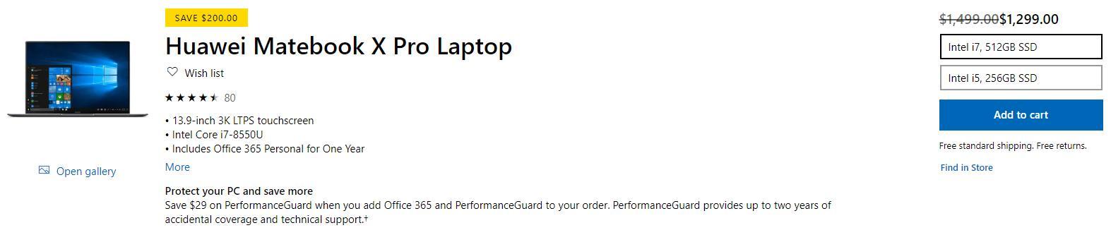 外媒点评华为MateBook X Pro是最好的笔记本之一,价格比联想良心