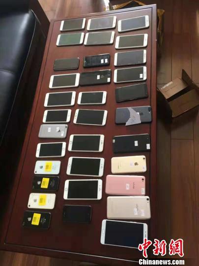 跨省手机盗销案查获手机500余部