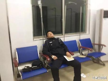 因饮食、作息不规律,他肚疼难忍。上卫生院一查是胃炎,要留下输液。