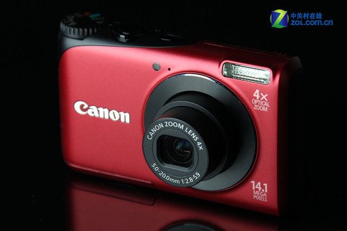 1410万像素720p卡片 佳能A2200评测首发