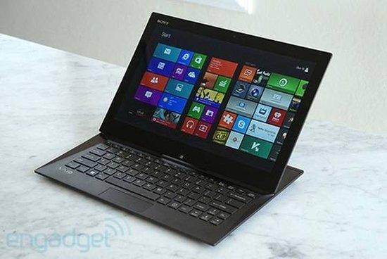 索尼 Duo 13键盘、触控板及手写笔